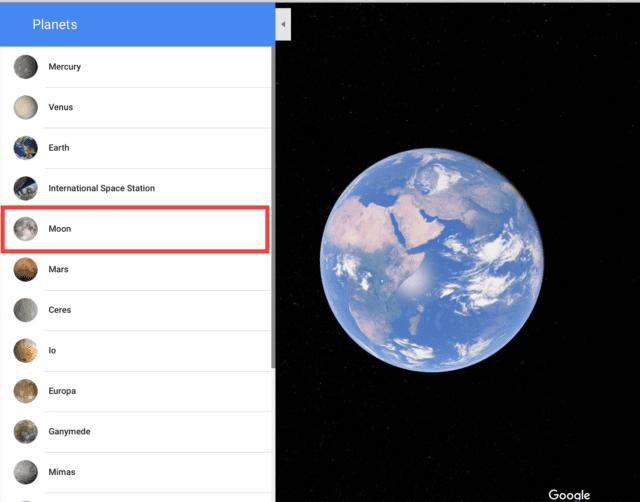 europa google maps